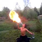 Feuerspucken